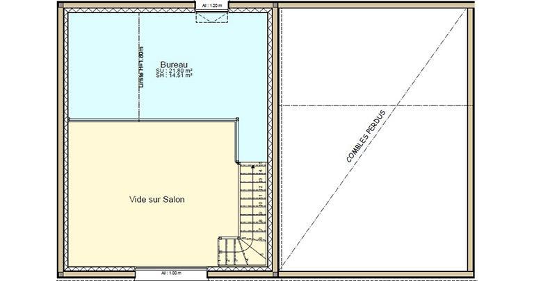 Plan Maison Auze