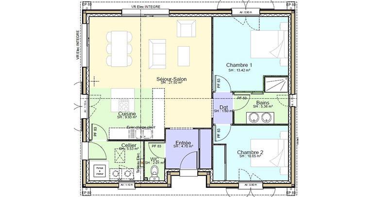 Plan Maison Bertrande