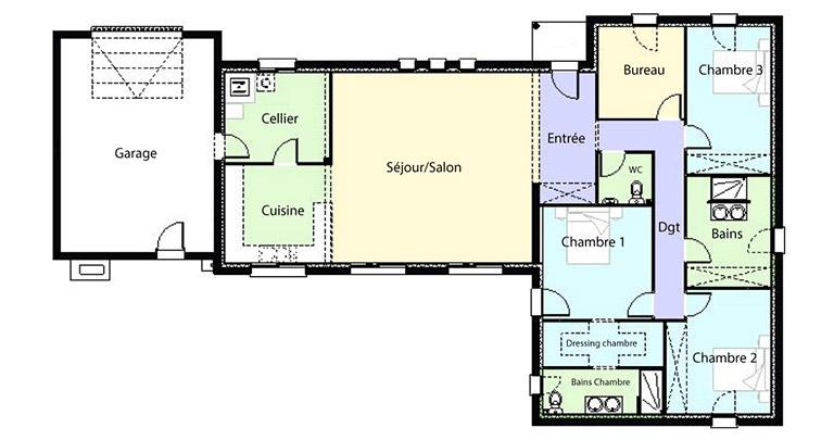 Plan Maison Ceou