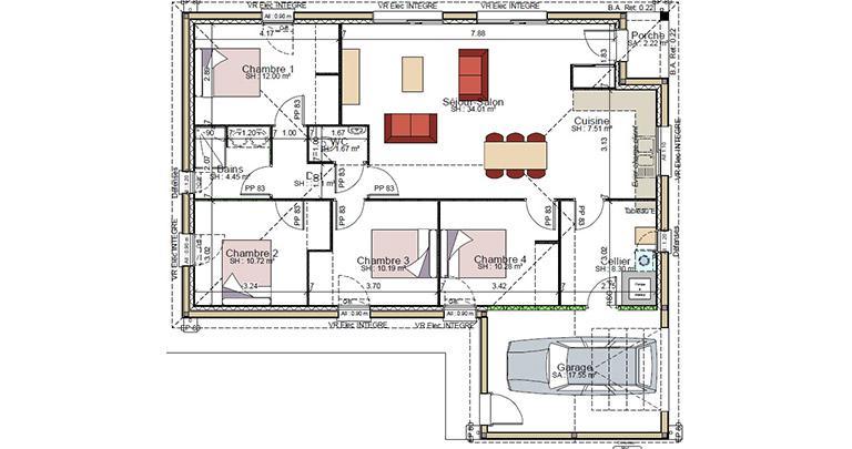 Plan Maison Etze