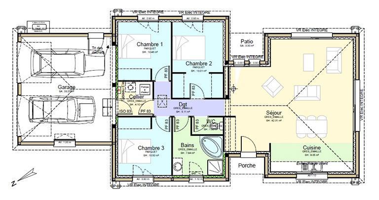 Plan Maison Jordanne