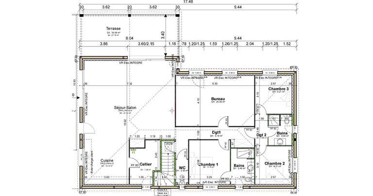 Plan Maison Lot