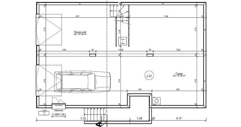 Plan Maison Loyre