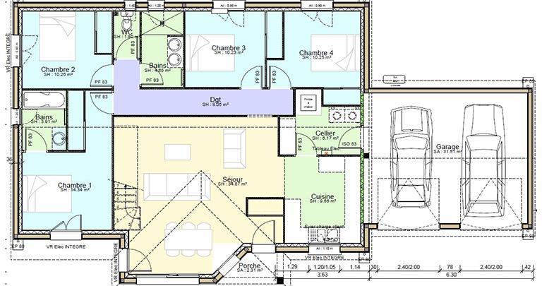 Plan Maison Rasthene