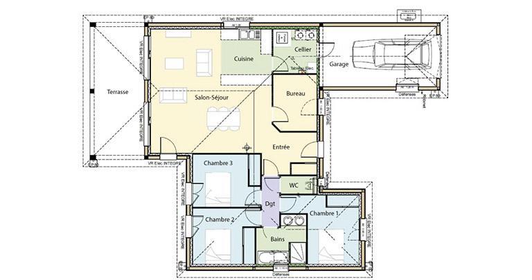 Plan Maison Sumene