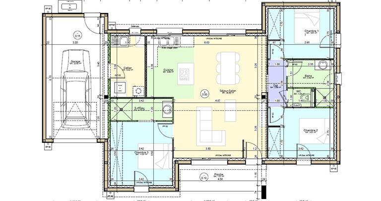 Plan Maison Vienne