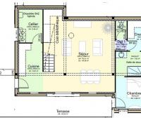 plan maison authre