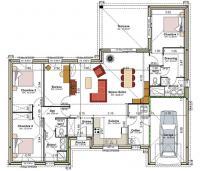Plan Maison Barguelonne