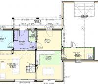 Plan maison Cere