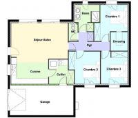 Plan Maison Lendou