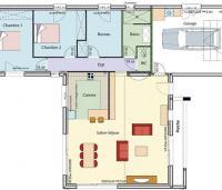 Plan Maison Luzege