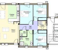 Plan Maison Marilhou
