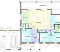 Plan Maison Montane