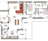 plan maison nuejouls